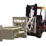 Xử lý lốp xe nâng Đính kèm kẹp lốp kính thiên văn