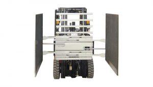 Xe nâng đính kèm Thùng kẹp Class 3 & 1220 * 1420 mm Kích thước cánh tay