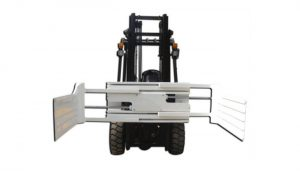 Lớn mở phạm vi nâng xe tải gắn thiết bị kẹp bale với xe nâng